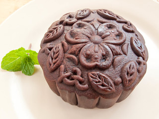 IMG_2465 Chocolate Mooncake ,巧克力月饼