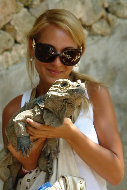 Peter es la iguana más vieja del Manatí Park Punta Cana - 9880064815 d9c9339872 z - Punta Cana, paraíso terrenal donde nace el sol