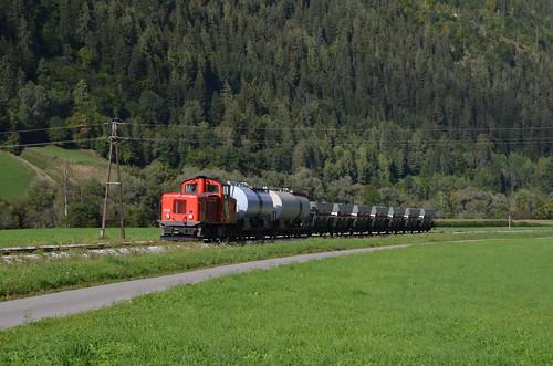 18.09.2013 (XVII); Oostenrijk, dag 19, cargo op de Murtalbahn