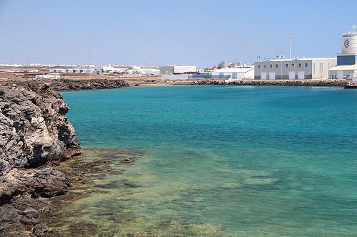 Arrecife harbor