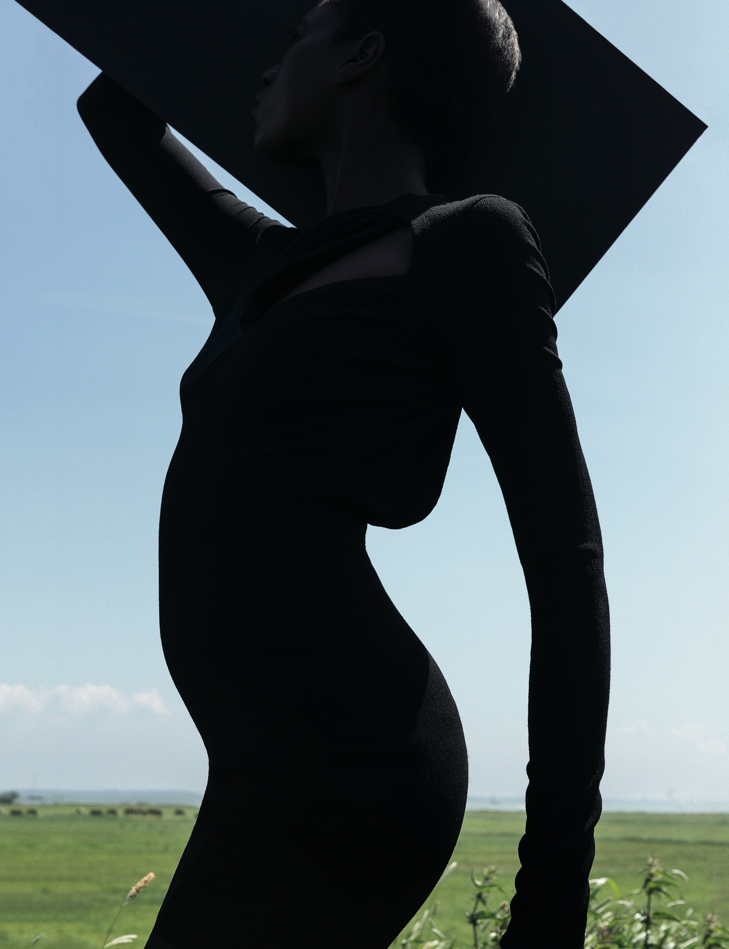 Kinée Diouf by Viviane Sassen (It's My Turn - AnOther Autumn-Winter 2013) 1