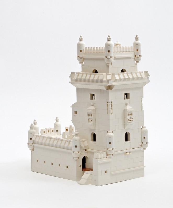 Torre de Belem (Lisbon) in LEGO