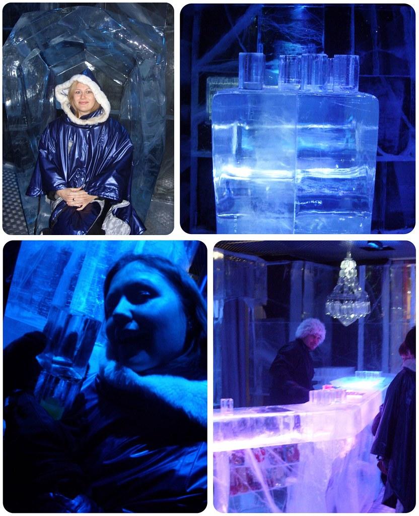 London Ice Bar Dani & Jess