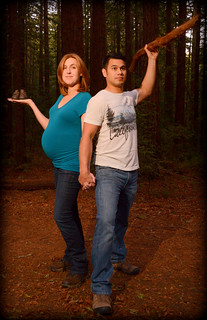 Tony and Betsy pregnancy portrait1, joaquin Miller Park, Oakland, California