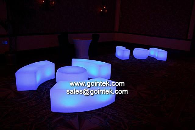 Photo for Muebles de salon con luz led