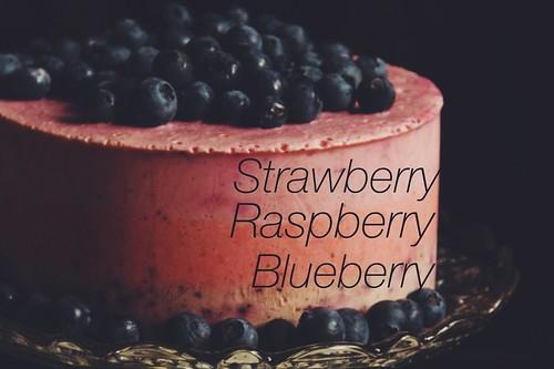 Frozen Berry Yoghurt