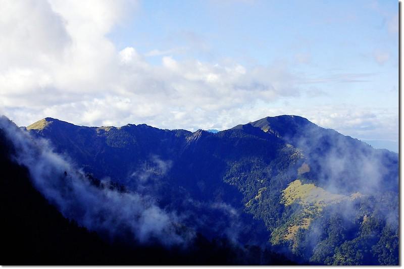 奇萊連峰(From 奇萊山登山步道) 4