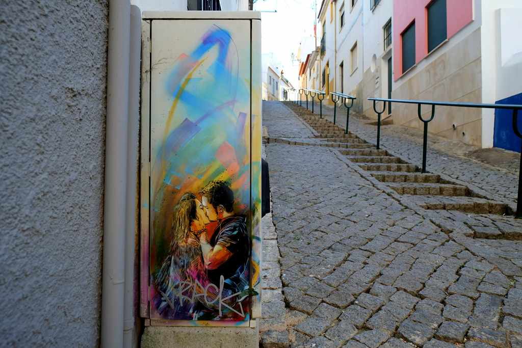 streetart | c215 | artur festival 2012 .lagos . portugal
