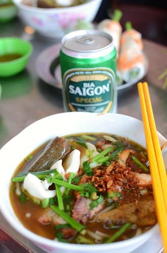 bun mam, bia Saigon