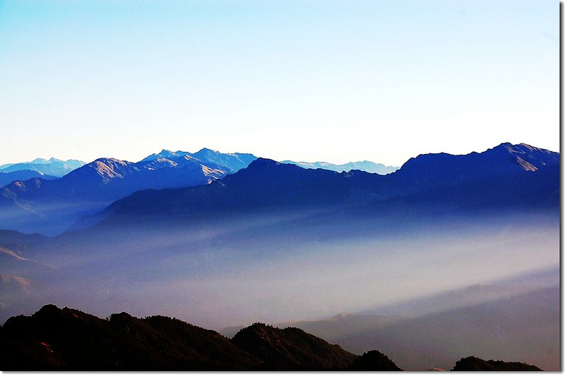三叉峰環景(From 三叉峰營地,北至東) 4