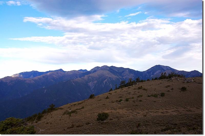 秀、馬、馬利加南群峰(From 馬西山) 2