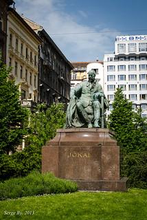 Image of Jókai Mór. travel europe hungary budapest magyarország 2013 будапешт венгрия nikkor2470 nikond7000 mórjókai морйокаи