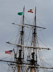 sail, vehicle, ship, mast, tall ship, watercraft, boat, brig, brigantine,