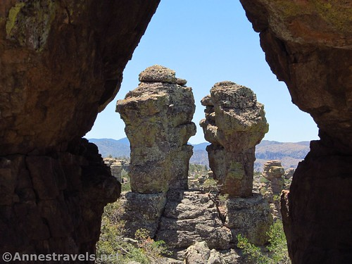 Punch and Judy, Heart of Rocks Loop Trail, Chiricahua National Monument, Arizona