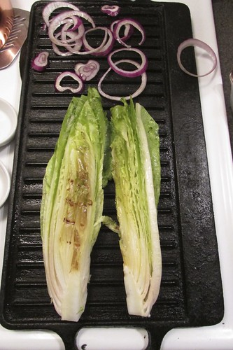 Anne Burrell's Wilted Romaine Salad