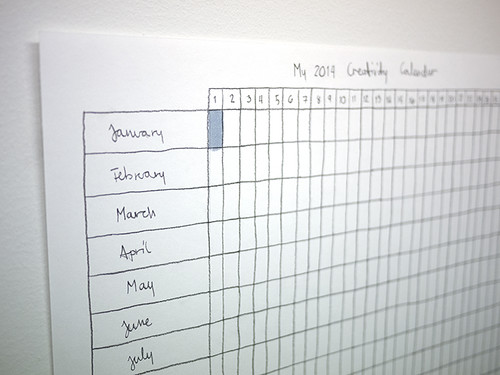 2014 Creativity Calendar
