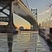 Delaware River Ice Philadelphia by Michaël Sid-Traut