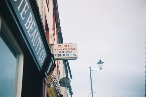 Chinese and English dishes