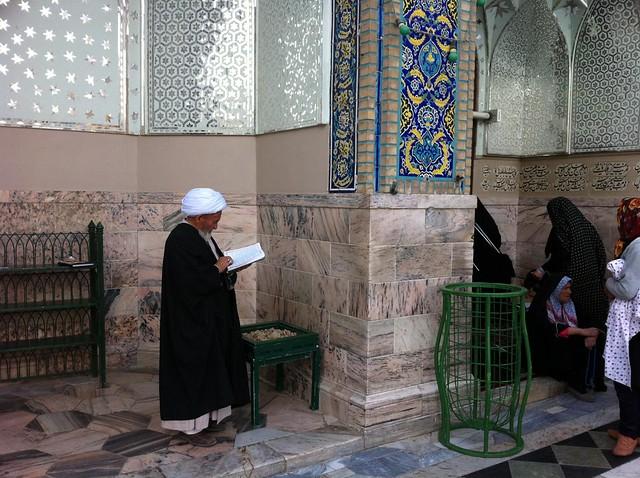Santuario de Imam Reza en Mashhad (Irán)