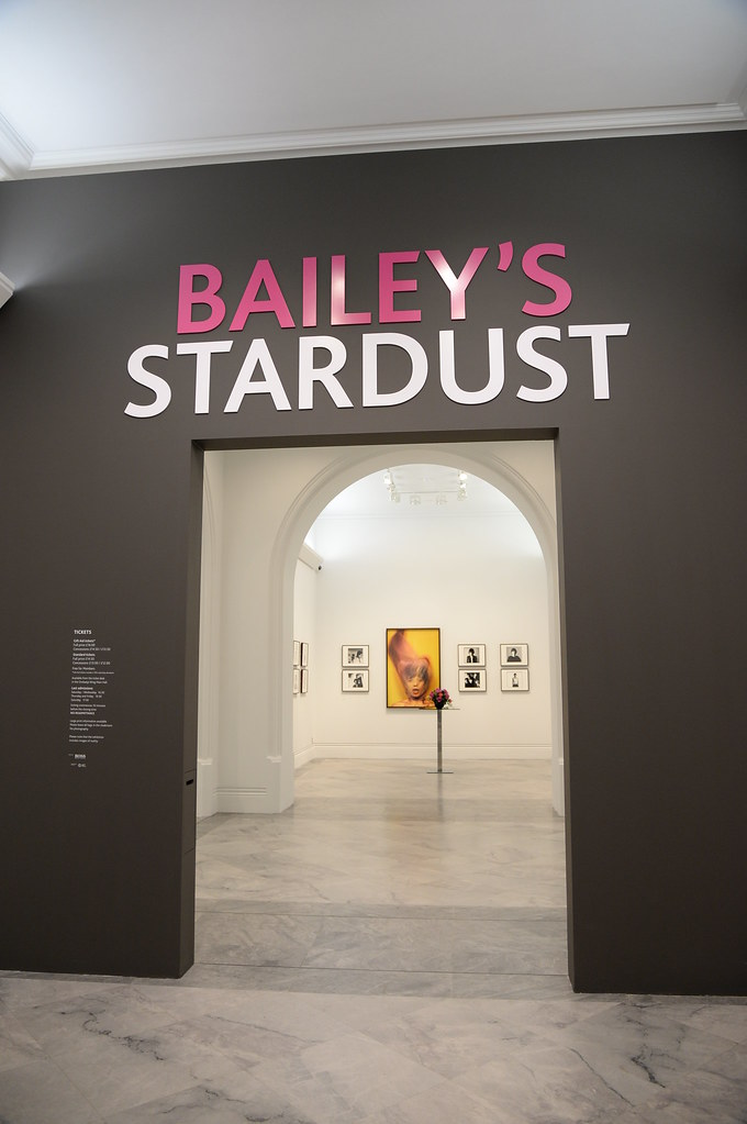 Private pre-view of David Bailey's stardust