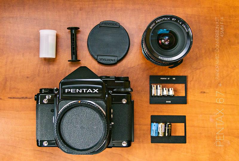 P67 + 35mm Panoramic Conversion Kit 請教。