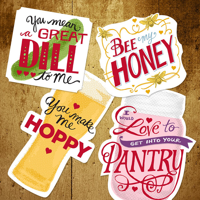 rintable foodie valentines cards