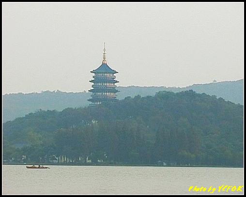 杭州 西湖 (其他景點) - 286 (在西湖十景之 蘇堤 看西裡湖及西湖十景之 雷風塔)