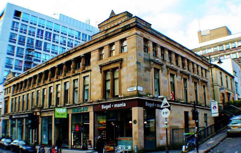 Grecian Buildings, 336-356 Sauchiehall Street/Scott Street.Glasgow, Scotland