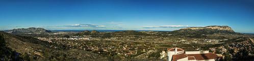 panorama spain mediterranean view ibiza viewpoint oliva costablanca pedreguer ondara canon24105mm canon50d