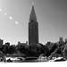 Shinjuku view blanco y negro
