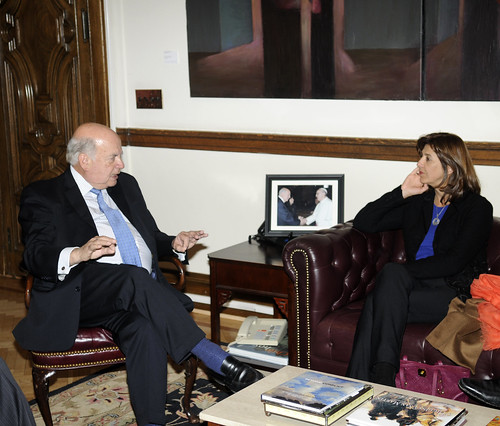 OAS Secretary General Met with the Minister of Foreign Affairs of Colombia