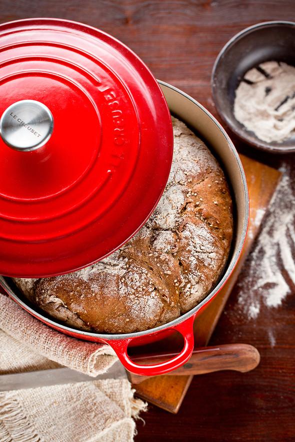 Pane senza impasto al grano saraceno