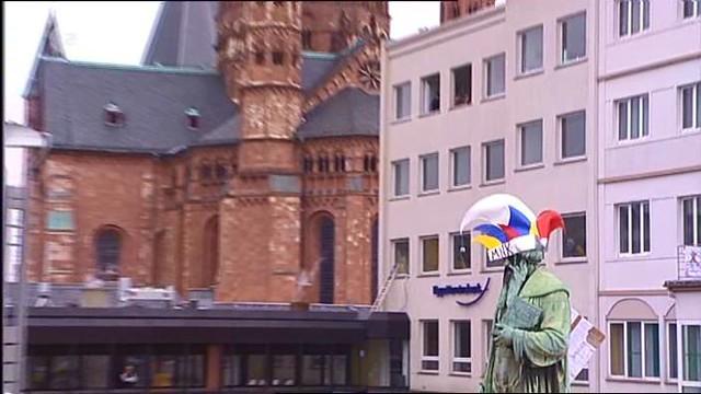 Carnival in Mainz: Gutenberg