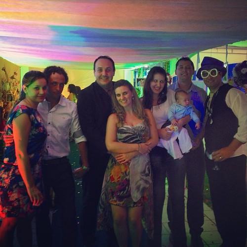 Casamento do meu amigão @eltongalera e @evehoracio ... Desejamos de coração muitas felicidades ao casal!!!