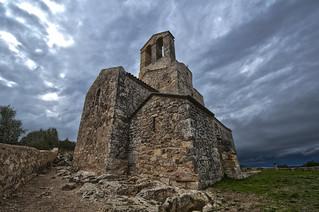 Image of Castell d'Olerdola. castell esglesia poblesdecatalunya castelldolerdola ermitadesantmiqueldolerdola