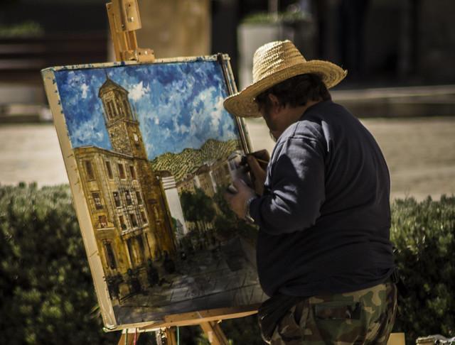 Pintando en la calle II