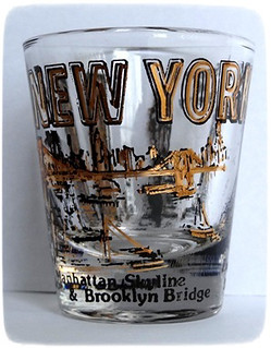 New-York City shotglass