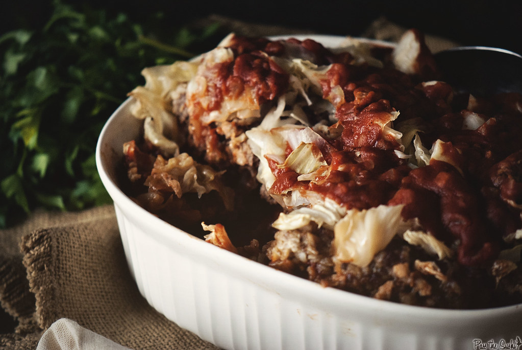 Slow Cooker Stuffed Cabbage \\ GirlCarnivore.com