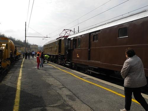 Testa del treno storico