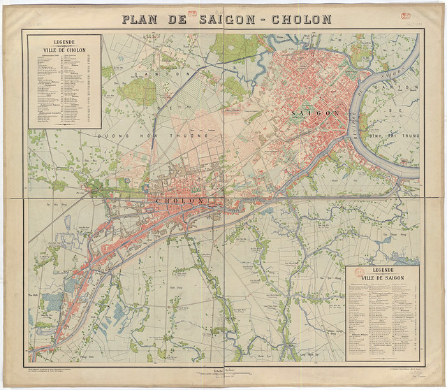 1923 - PLAN DE SAIGON-CHOLON