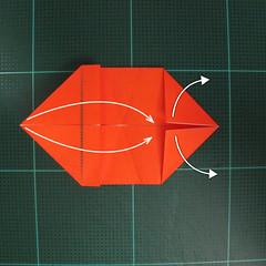 การพับกระดาษเป็นรูปปลาทอง (Origami Goldfish) 007