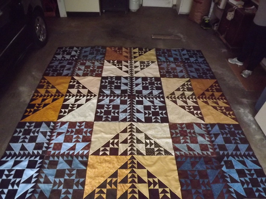 Fractalish by Sandi Walton at Piecemeal Quilts