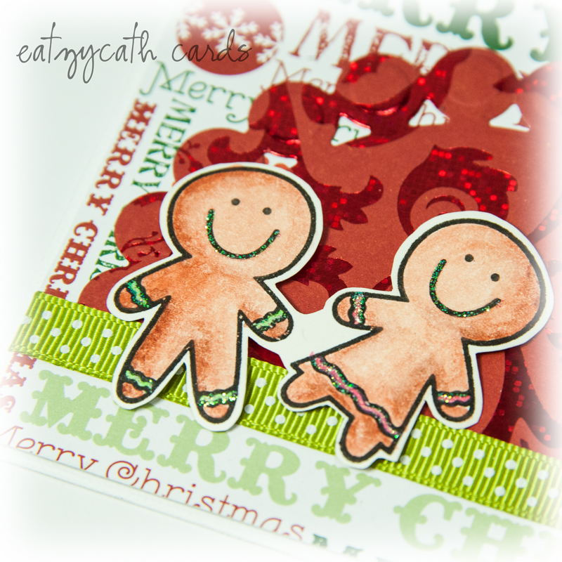 gingerbread christmas - closeup