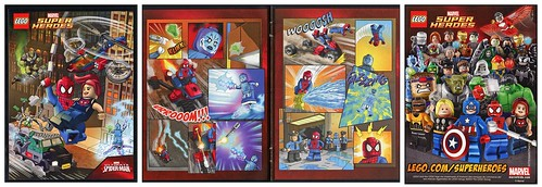 Super Heroes Marvel Universe 76016 Spider-Helicopter Rescue comic01