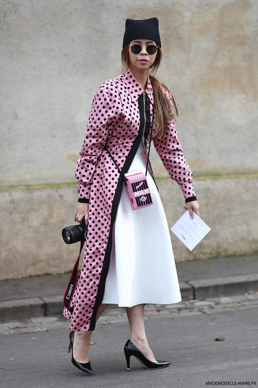 Ploy Chava at Paris fashion week copie