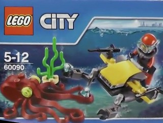 LEGO City Deep Sea 60090