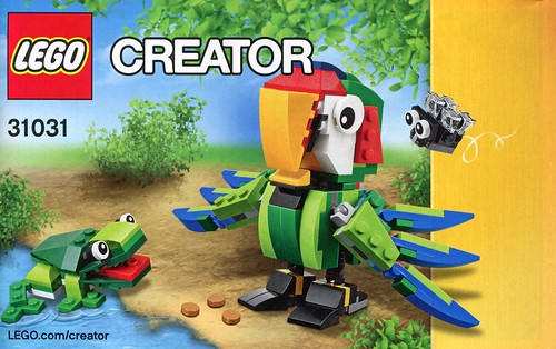 LEGO Creator 31031 Rainforest Animals ins03