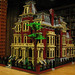 LEGO Model of the C. R. Mabley Mansion, Detroit, 1881 by DecoJim