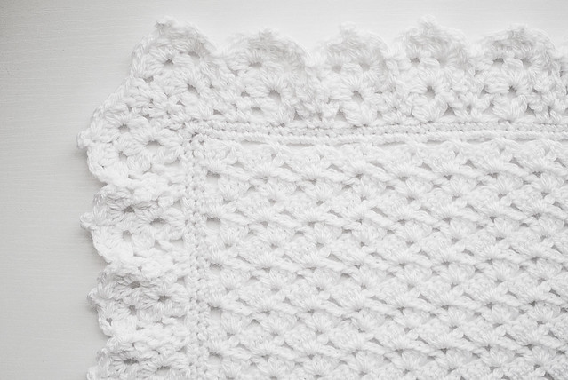 Crochet: Christening blanket
