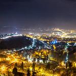 Pécs city panorama